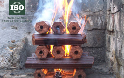 Eco Fire & BBQ logs are proudly ISO:14021 compliant